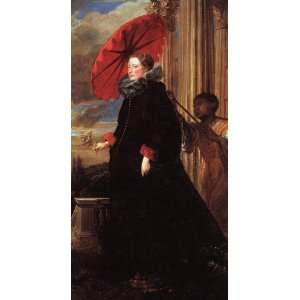 van Dyck   24 x 46 inches   Marchesa Elena Grimaldi: Home & Kitchen