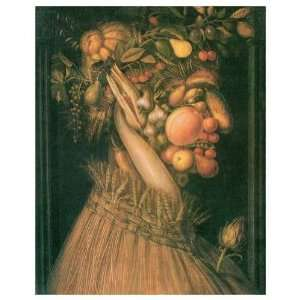 Summer Giuseppe Arcimboldo. 40.00 inches by 49.50 inches