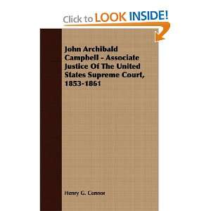 John Archibald Campbell   Associate Justice Of The United