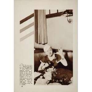 1933 Lilyan Tashman Actor Brown Derby Hollywood Print