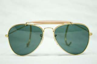 80s Vintage Gold Frame Aviator Men Women Sunglasses