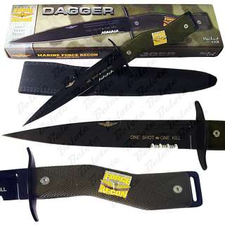 United USARA Marine Force Recon Dagger + Sheath UC2640