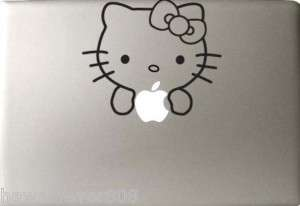 HELLO KITTY MAC BOOK LAPTOP IPAD TABLET STICKER DECAL