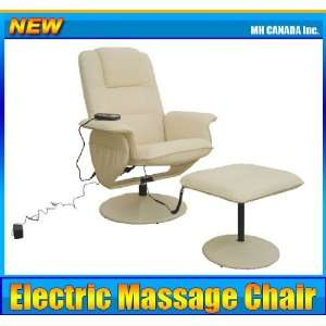 Recliner Electric Heat Leather TV Office Home Massage Chair