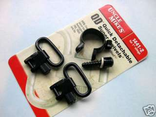 Uncle Mikes Sling Swivels For Rem 740, 760, 7600 & Six 043699144129
