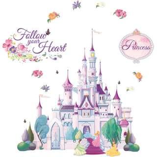 Princess castle bliss mural for Disney princess mini mural