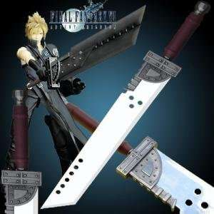 Final Fantasy ADVENT CHILDREN Cloud BUSTER Sword 56