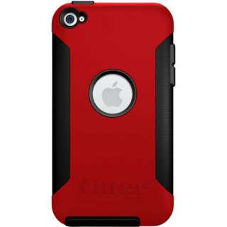 OtterBox Commuter Case for Apple iPod Touch 4 4th Gen Red/Black