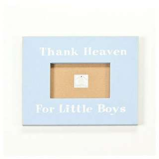 Twelve Timbers Thank Heaven for Little Boys Picture Frame: Decor