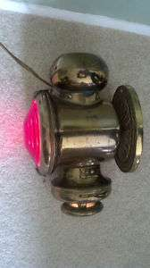 Model T Ford Tail light Converted to a Wall Sconce Lamp