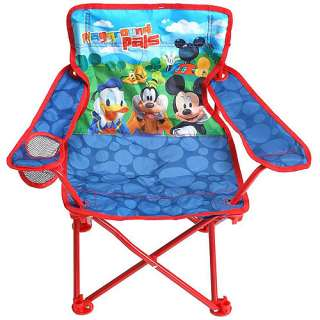Disney   Mickey and Friends Fold N Go Patio Chair Kids & Teen Rooms