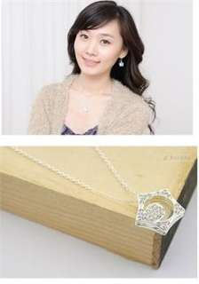 Korea boys Over Flowers Kissing star moon Necklace x60 great gift