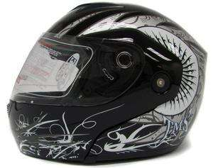 DOT MODULAR FULL FACE FLIP UP MOTORCYCLE STREE BIKE HELMET ~XL