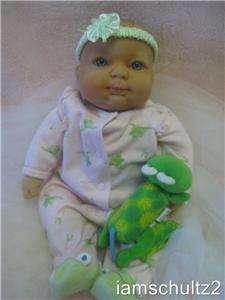 BOO BOO Cuddly Pucker Face REBORN Infant Newborn Berenguer Baby Doll
