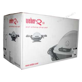 Weber Q120 Portable Propane Gas Grill 516501 NEW Q 120 077924006487