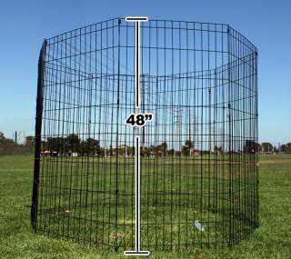 New Portable 36X24 Folding Pet Dog Exercise Playpen Pen Cage Fence
