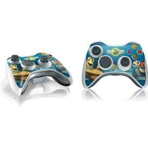 Ride The Wave Vinyl Skin for 1 Microsoft Xbox 360 Wireless Controller