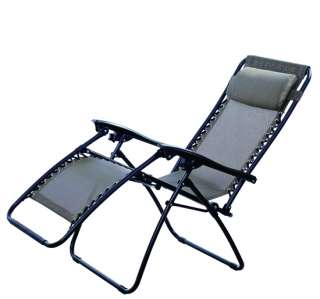 Zero Gravity Chair Recliner Outdoor Patio Pool Lounge Chairs Folding