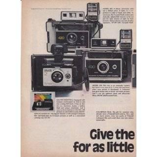 Polaroid Minute Land Cameras 2 Page 1974 Original Vintage