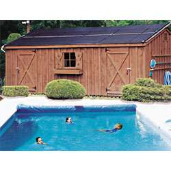 Panel Swimming Pool Solar Heating System 4x10 Panels For 12x24