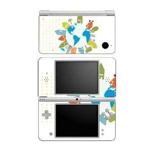 World Peace Love Decorative Protector Skin Decal Sticker for Nintendo