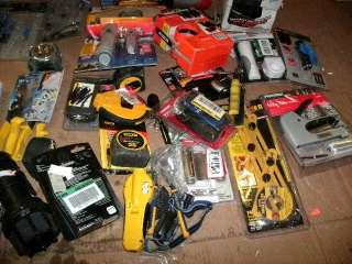 WHOLESALE LOT OF ASSORTED NAMEBRAND TOOLS & ACCESSORIES