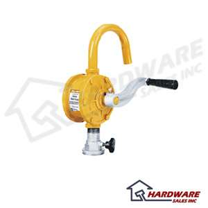 This easy to use hand operated rotary vane pump delivers approximately