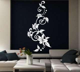 Ƹ̵̡Ӝ̵̨̄Ʒ Summer Flowers Art Wall Decal Sticker Large ✿✿