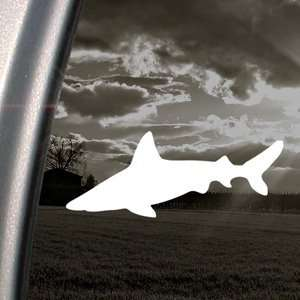 Shark Diving Beach Hunt Decal Truck Window Sticker