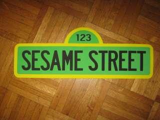 Sesame Street   123 Sesame Street Sign wall decoration